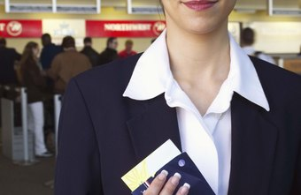Flight attendants have the opportunity to travel the world.
