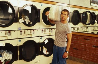 Apartment and college communities are good locations for commercial laundry facilities.
