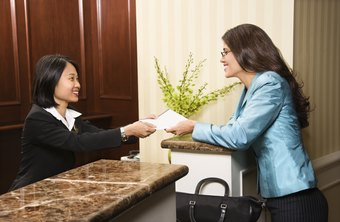 Greet visitors with a sincere smile and an offer to help.