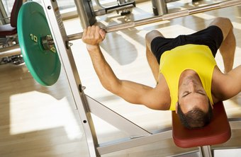 The bench press on a decline stresses your lower chest.