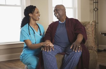 Nurses earn their pay by comforting patients.