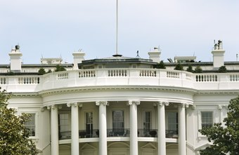 The White House is home to the President and his family.