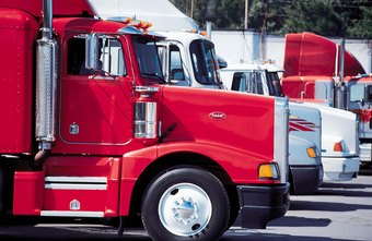Trucking companies can hire independent owner-operators to avoid buying their own trucks.