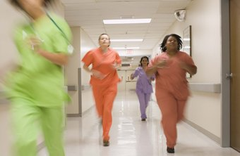 Nurses starting out earn the most in a hospital setting.