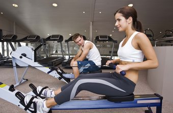 Rowing engages your problem spots and burns calories.