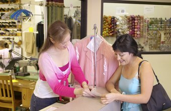 Excellent customer service is key to the success of a dry cleaning business.