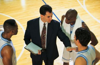 High school basketball coaches are usually paid a part-time wage.