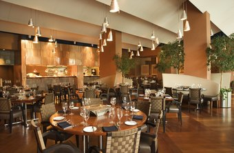 A restaurant's chairs, tables and light fixtures are examples of long-term assets.