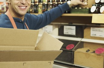 Stockroom associates make sure your favorite items are available and in place.