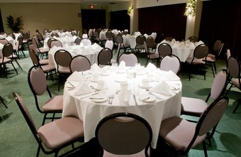 Banquet managers plan and execute function logistics.