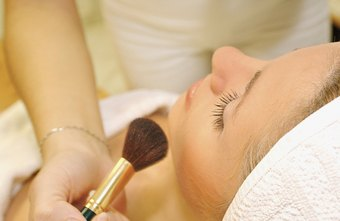 Cosmetologists perform a variety of services, including skin care and makeup.