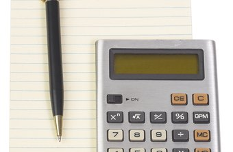 An operating budget may have humble beginnings with a notepad and calculator.