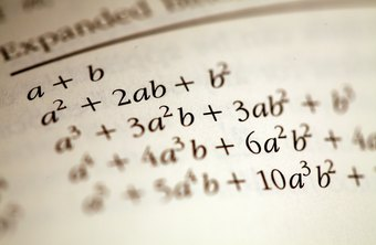 Algebra uses letters to represent numbers in formulas.