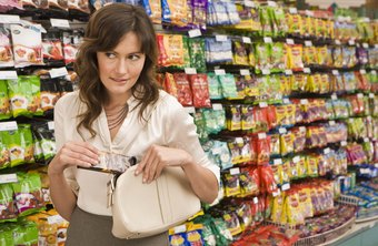 Shoplifting shrinks inventory.
