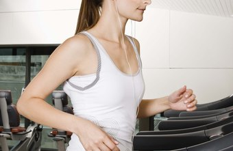 Weights can increase the intensity of your treadmill workout.