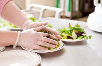 Line cooks are responsible for fast and hygienic food preparation.