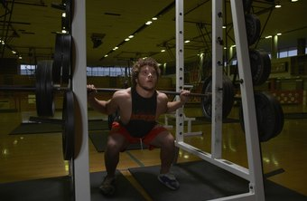 The squat is a compound exercise that's very beneficial for teenagers trying to gain muscle.