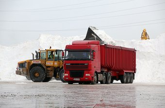 Ice truckers in Alaska and Canada can earn $250,000 in two months, according to AOL.