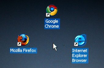 Firefox, Chrome and Internet Explorer are the three most widely-used Web browsers.
