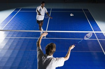 You need 21 points to win a badminton game.