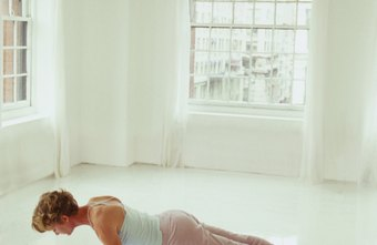 Tighten your abs by practicing plank pose regularly.