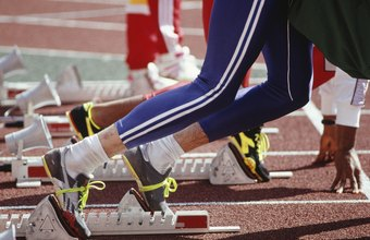 Learning the proper use of starting blocks is one way running track can boost your speed.