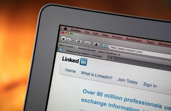 LinkedIn users can see status updates from those who they are connected to.
