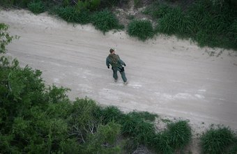 CBP agents often work in remote areas and encounter rugged terrain.