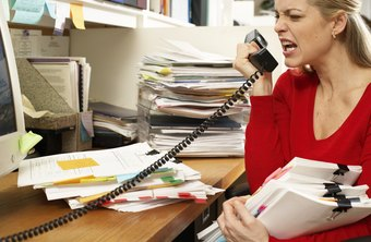 Venting frustration inappropriately could get you fired.