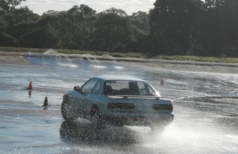 Stunt driving courses teach precise motoring skills.