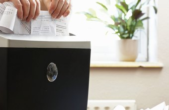 High-security paper shredders ensure that documents can't be pieced back together.