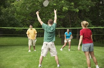 A game of badminton can burn about 230 calories in 45 minutes.