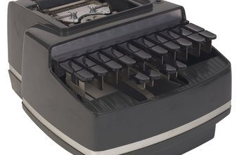 A stenographer typist's main tool is the stenotype machine.