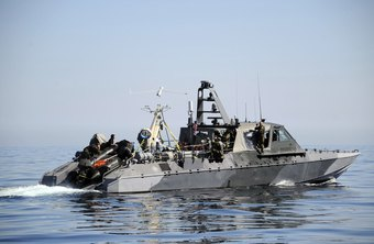 The Mark V special warfare boat is only one of the boats a coxswain may operate.
