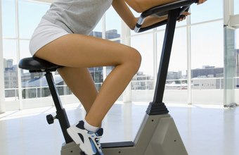 The stationary bike is one type of cardio machine you can use to burn fat.