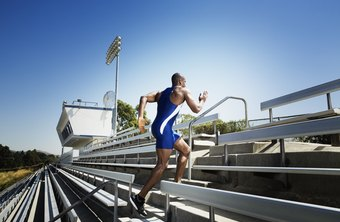 Stair running can fatigue your hamstrings quickly.