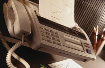 Fax machines provide a one-step method for sending documents quickly.