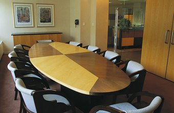 The board of directors makes decisions in a corporation.