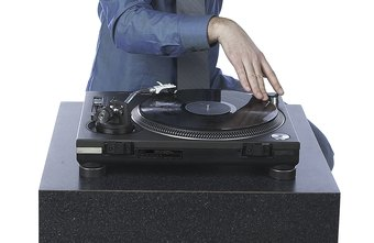Many DJs rely on vinyl to get just the right sound.