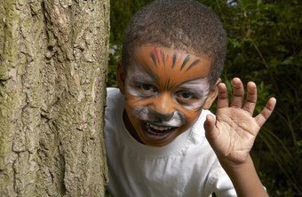 Get jobs painting children's faces at birthday parties and local events.