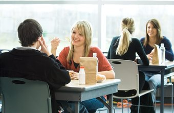 Creative planning skills enable cafeteria managers to find the best seating arrangements.