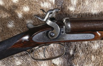Flintlock guns were precursors of modern rifles.