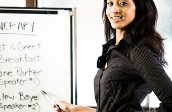 Post a training schedule before a training session to prepare employees.