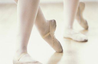 Strong feet and ankles form one component of successful pirouettes.