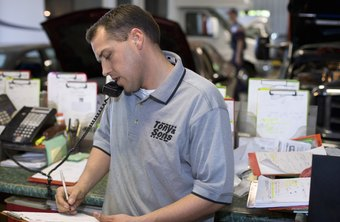 Parts managers need good customer service skills.