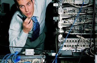 Besides having the same duties as a network administrator, a junior network administrator reports to a senior manager.