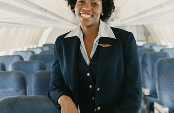 Flight attendants must meet many physical requirements and undergo an extensive training program.