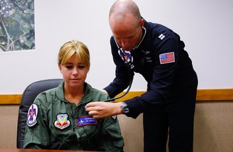 Air Force doctors work in many different specialties.