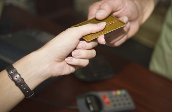 Cashiers must know how to process credit card payments.