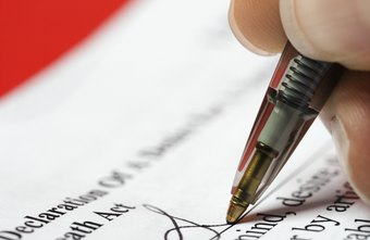 Signing your own name to business documents opens you up to financial liability.